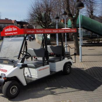 Elektromobilis Jūrmalas tūre