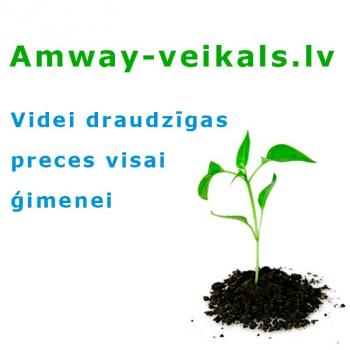 Amway veikals - videi draudzīgas preces visai ģimenei