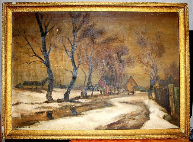 Pārdodu J. Viļumaiņa gleznu