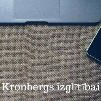 """Tālivalža Kronberga projekts """"Kronbergs izglītībai"""""""