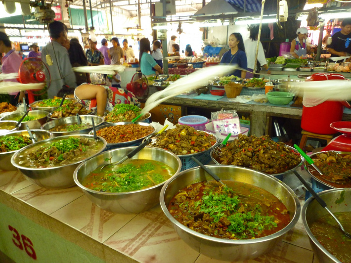Market in Thailand, Dace & Gilles photography